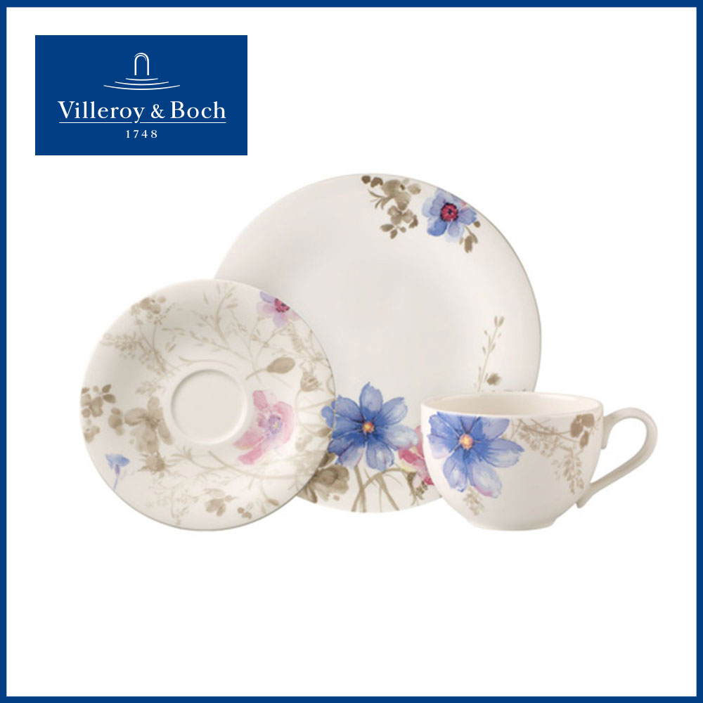 Villeroy & Boch, Geschirrserie Mariefleur Gris